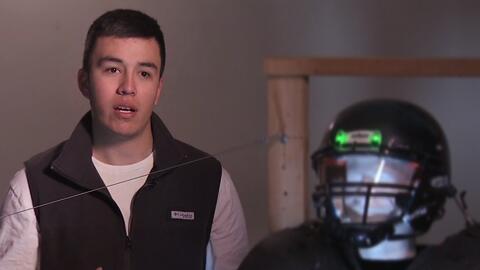 Joven hispano de Texas trabaja en un sistema que promete poner fin a las...