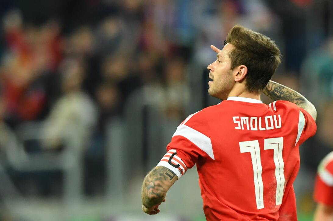 Fyedor Smolov (Rusia) - es el mejor delantero que tiene en este momento...