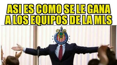 Memes para no parar de reír: Chivas y América pusiera orden en la Concacaf