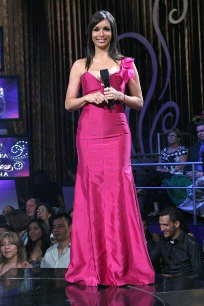 Para la gran final de Nuestra Belleza Latina, Giselle Blondet, luci&oacu...