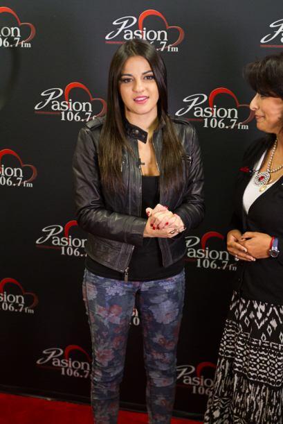 En su paso por Chicago Maite Perroni fue entrevistada por nuestra locuto...