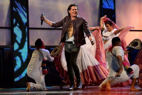 Este año Carlos Vives se convirtió en otro de los cantantes con mayor nú...