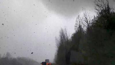 Alerta por nevadas, inundaciones y tornados en varios estados en plena primavera