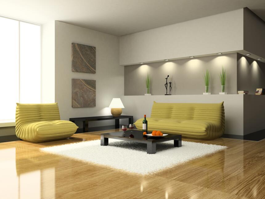 Una idea práctica para añadir luminosidad a la sala es colocar algunas l...