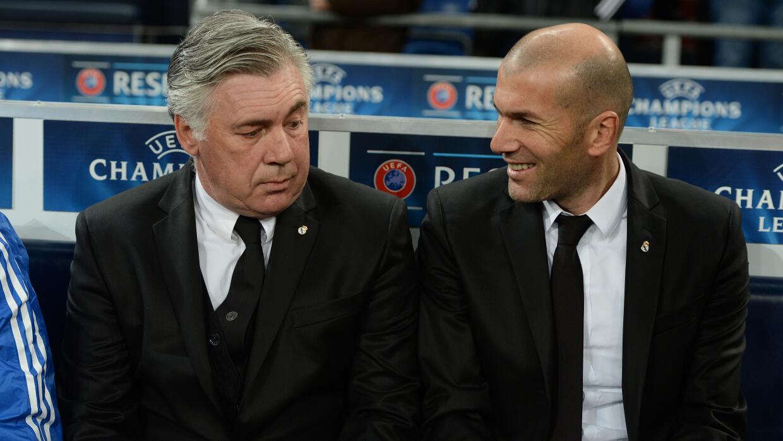 Carlo Ancelotti/ Zinedine Zidane
