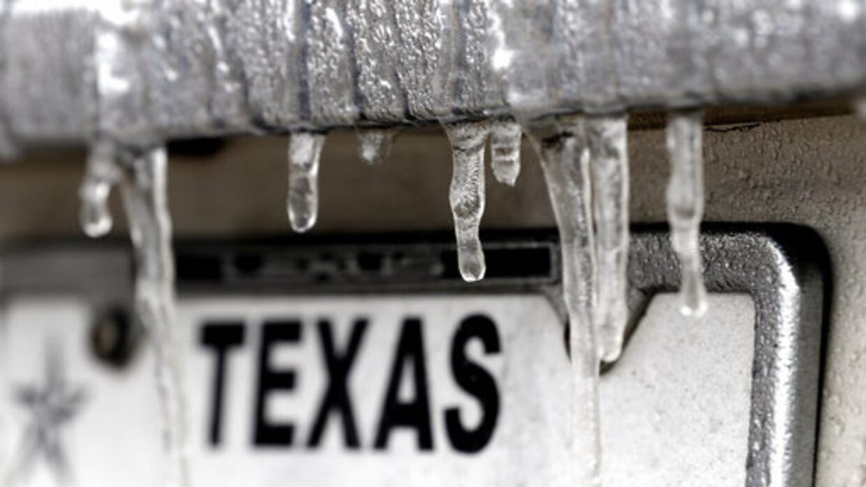 Tormenta invernal en Houston