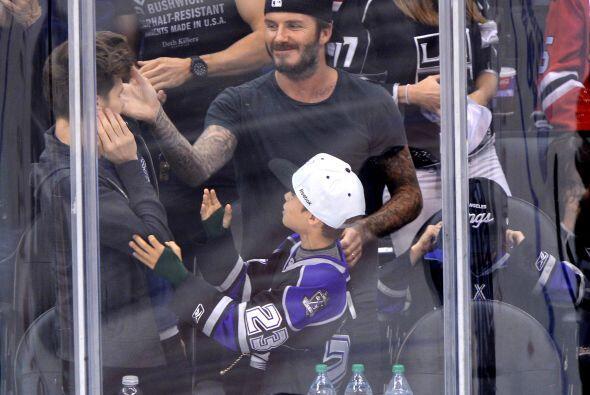 Los Beckham disfrutan estar juntos, además de que David es un excelente...