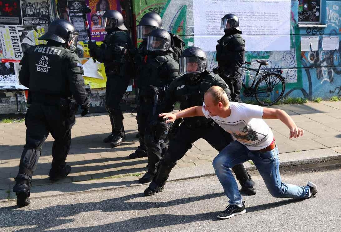 Protestas Hamburgo G20