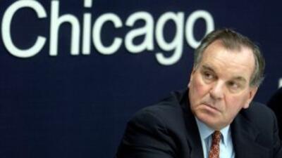 El alcalde Richard M. Daley