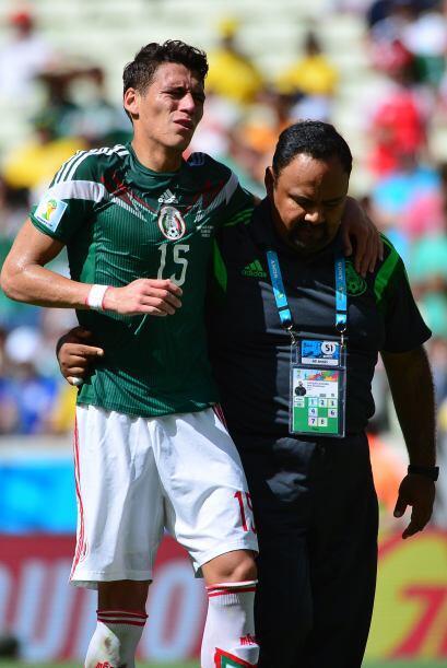 Quienes esperaban un Mundial distinto fueron Héctor Moreno y Javier Hern...