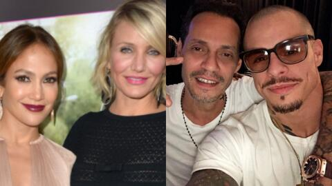 Jennifer Lopez, Cameron Diaz, Marc Anthony, Casper Smart