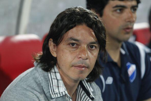 Marcelo Gallardo vivió una historia particular con el Nacional de Urugua...