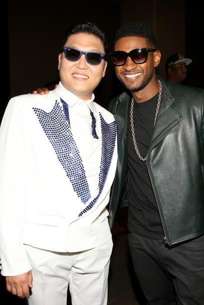 El cantante de R&B Usher dejó entre ver su admiración por el rapero asiá...