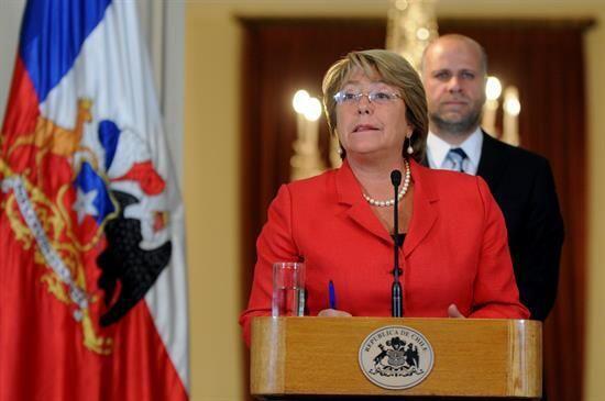 La presidenta Michelle Bachelet decretó este miércoles el...