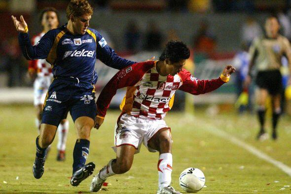 En la primera jornada del Clausura 2006, San Luis perdió 2-1 con la UAG...