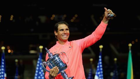 Rafael Nadal se coronó en el USA Open.