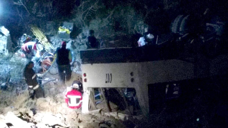 Accidente mortal en Durango