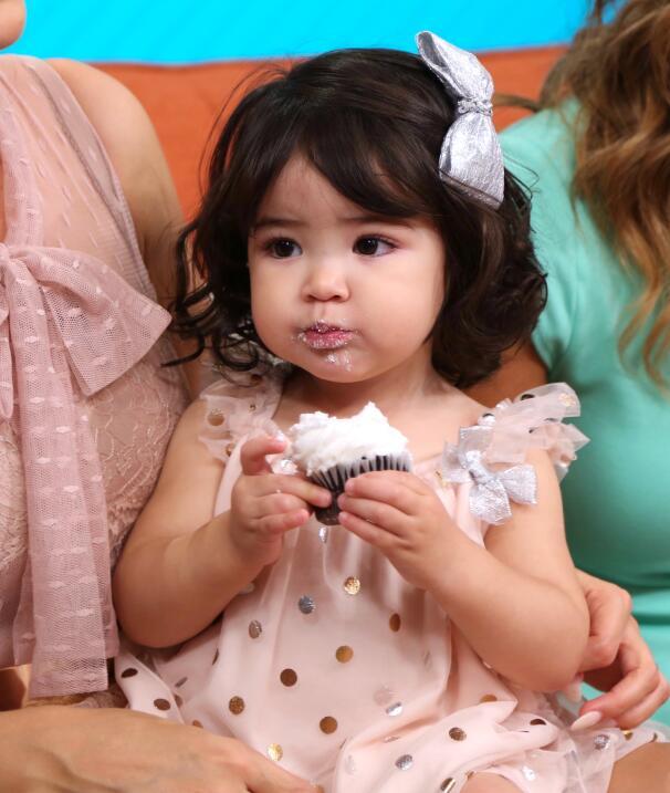 Baby giulietta hija de Ana Patricia Gamez