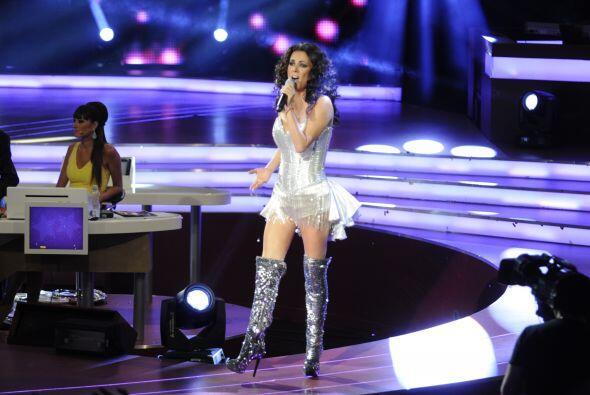 Otra gran sorpresa fue ver a la reconocida cantante Edith Márquez sobre...