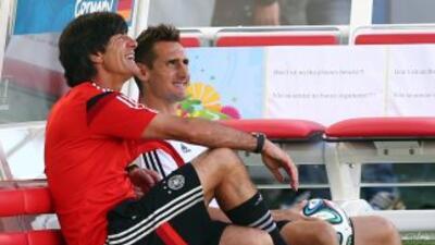 Joachim Löw se mostró contento al saber que enfrentará a Brasil.