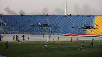 Al menos 26 muertos en atentado suicida en un estadio de fútbol al sur de Bagdad