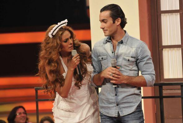Gali quería consolar a Aarón, quien fue despreciado por Telesa.