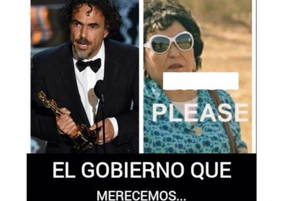 ¿Qué opinará Iñárritu de su candidatura?
