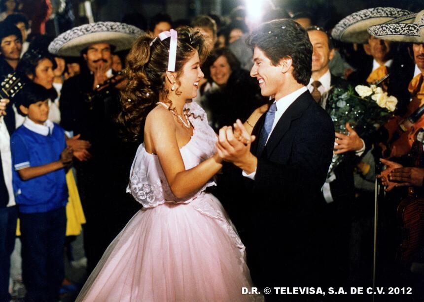 """Thalía recuerda sus tiempos de """"Quinceañera"""""""