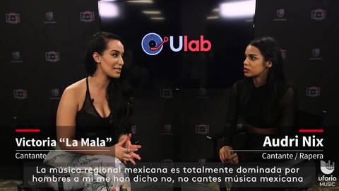 Victoria La Mala y Audri Nix hablan sobre ser mujeres en géneros dominad...
