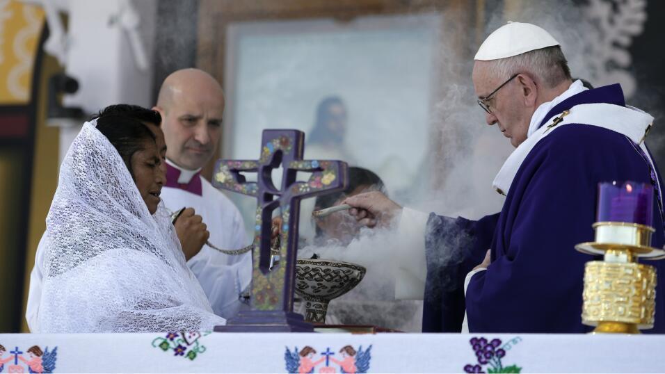Papa Francisco México, Chiapas