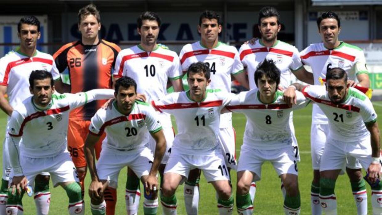 Irán está ubicada en el Grupo F de la competencia, al lado...