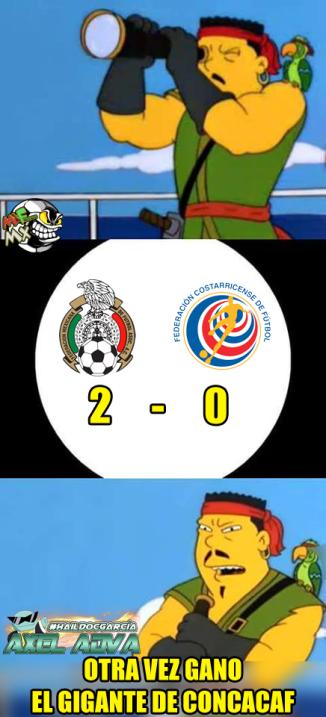 Tras el triunfo del Tri, las burals fueron para Costa Rica y los elogios...