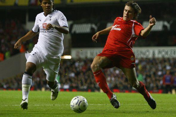 Era más factible verle jugar en torneos como la FA Cup y la Carling Cup...
