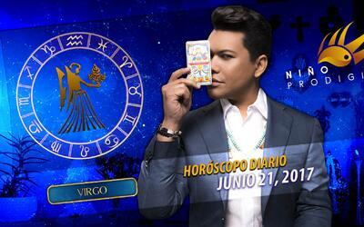 Niño Prodigio - Virgo 21 de junio 2017