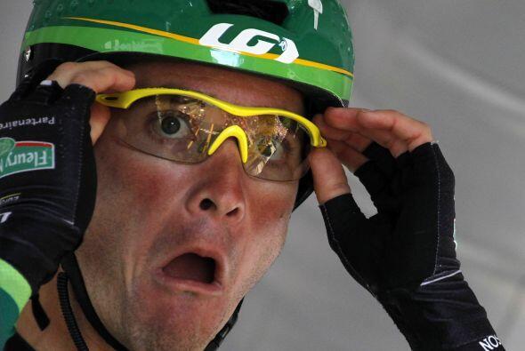 Thomas Voeckler fue líder del tour de Francia en varias ocasiones.