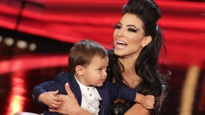 Top Moment: Patricia fue sorprendida con la visita de su hijo