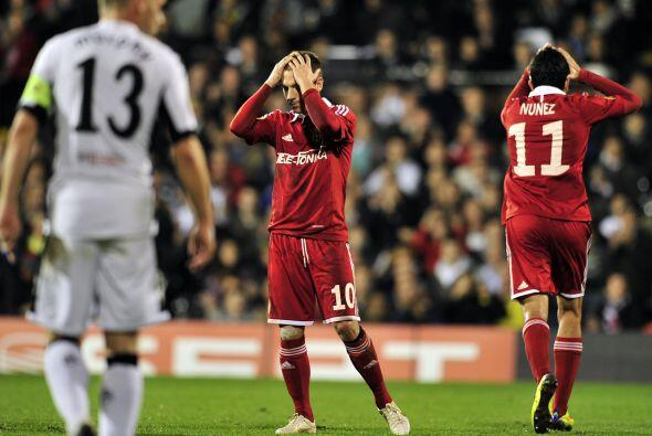 Fulham terminó ganando con un marcador final de 4-1.