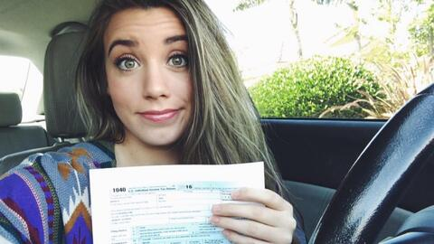 Video: A 'Dreamer' uploads a photo to Facebook of her tax form and gets...