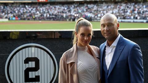 New York Yankees Hannah Jeter and Derek Jeter.jpg