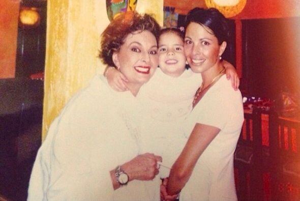Esa hermosa bebita es la hija de la fallecida actriz Mariana Levy.