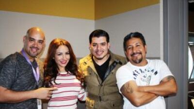 ¡Noel Torres nos visitó en los estudios del Show del Bueno, La Mala y El...