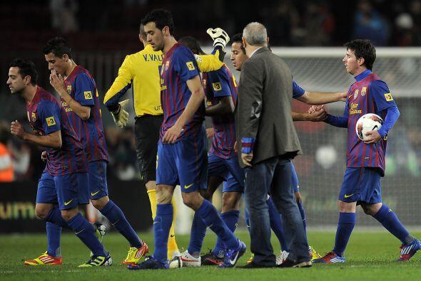 Contundente victoria del Barcelona, que con este resultado sigue a 10 pu...