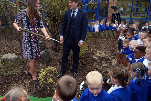 Kate Middleton disfruta de hacer el trabajo diario.