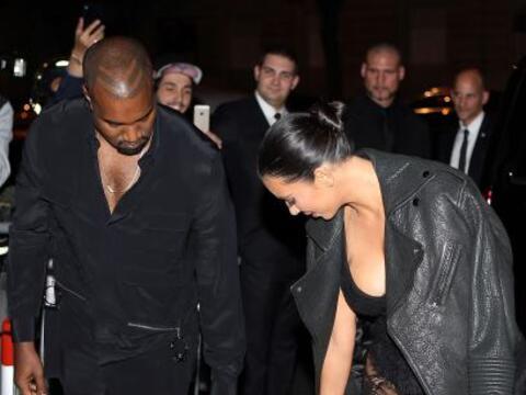 Así llegó la familia West Kardashian al desfile de Givench...
