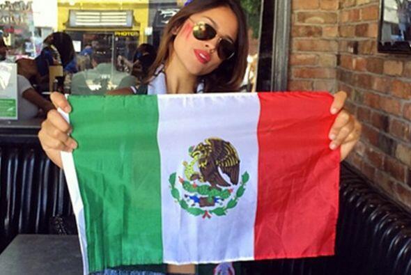 """""""Esoooooooo MÉXICO!!!!! Eeeeeeeeeeeee"""", escribió Eiza González junto a e..."""