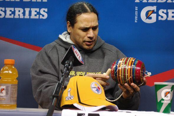 El mejor defensivo de la NFL, Troy Polamalu, no conocía el balero mexicano.