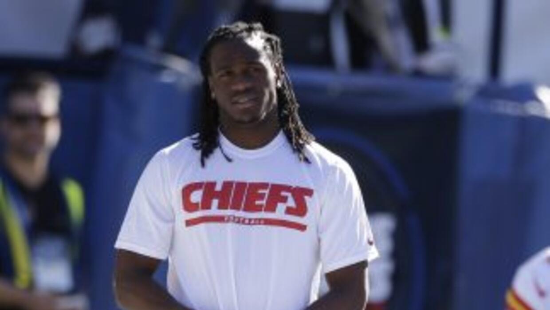 Jamaal Charles ha sido el impulso detrás de la ofensiva de Chiefs (AP-NFL).