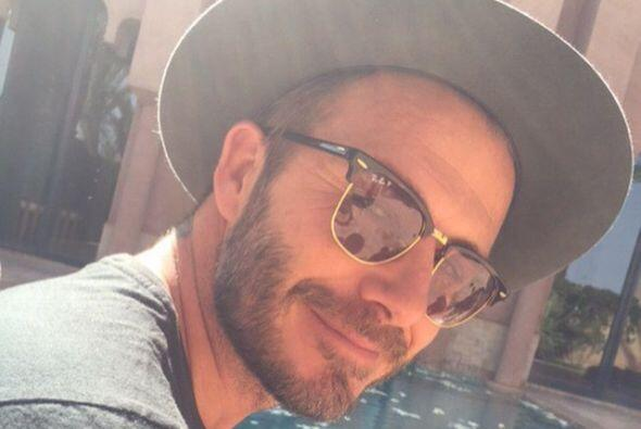 "Beckham dijo que era un ""hombre muy afortunado""."