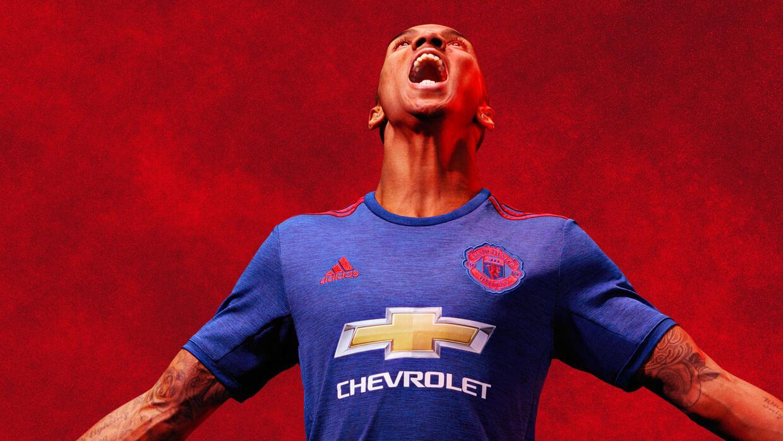 El uniforme será portado en los encuentros fuera de Old Trafford.