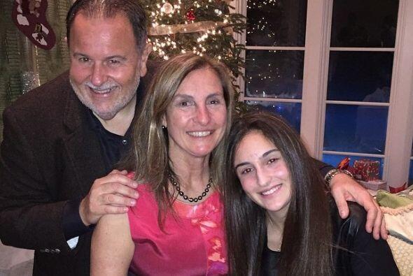 Por su parte, Raúl de Molina también estuvo con su familia, Milly y Mía.